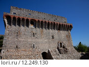 Купить «Ourem old castle at the top of the hill, in the center of Portugal», фото № 12249130, снято 24 июня 2019 г. (c) PantherMedia / Фотобанк Лори