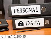 Купить «Personal Data - Data Security», фото № 12280154, снято 16 июня 2019 г. (c) PantherMedia / Фотобанк Лори