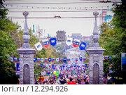 Купить «На Кировке, Челябинск», фото № 12294926, снято 6 сентября 2014 г. (c) Хайрятдинов Ринат / Фотобанк Лори