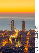 Купить «view panorama sunrise perspective sight», фото № 12295974, снято 20 июня 2019 г. (c) PantherMedia / Фотобанк Лори