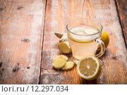 Купить «Ginger tea», фото № 12297034, снято 19 сентября 2019 г. (c) PantherMedia / Фотобанк Лори