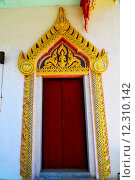 Купить «kho samui bangkok in thailand incision of   gold  temple», фото № 12310142, снято 23 марта 2019 г. (c) PantherMedia / Фотобанк Лори