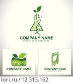 Купить «Genetically Modified Plants Logo», иллюстрация № 12313162 (c) PantherMedia / Фотобанк Лори
