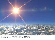 Купить «Sun lens flare star cross light day», фото № 12359050, снято 21 июля 2018 г. (c) PantherMedia / Фотобанк Лори