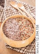 Купить «Multi whole grain of organic jasmine rice», фото № 12394158, снято 21 мая 2018 г. (c) PantherMedia / Фотобанк Лори