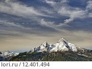 Купить «spring mountains alps bavaria alpenpanorama», фото № 12401494, снято 20 августа 2019 г. (c) PantherMedia / Фотобанк Лори