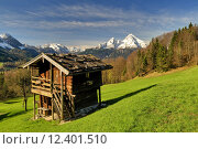 Купить «spring mountains alps bavaria alpenpanorama», фото № 12401510, снято 20 августа 2019 г. (c) PantherMedia / Фотобанк Лори