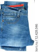 Купить «Jeans for men», фото № 12428046, снято 4 июля 2020 г. (c) PantherMedia / Фотобанк Лори