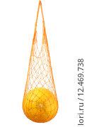 Купить «Дыня колхозница в сетке авоське», фото № 12469738, снято 31 августа 2015 г. (c) Дрогавцева Оксана / Фотобанк Лори