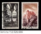 Купить «French Postage Stamps», фото № 12526666, снято 19 июля 2019 г. (c) PantherMedia / Фотобанк Лори
