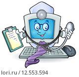 Купить «Computer doctor theme image 1», иллюстрация № 12553594 (c) PantherMedia / Фотобанк Лори