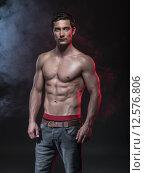 Купить «fitness male model», фото № 12576806, снято 19 июля 2019 г. (c) PantherMedia / Фотобанк Лори