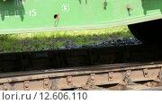Купить «Вагоны ранжируются на сортировочной горке», видеоролик № 12606110, снято 2 сентября 2015 г. (c) Виталий Зверев / Фотобанк Лори
