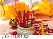 Купить «Incense sticks», фото № 12631326, снято 21 октября 2019 г. (c) PantherMedia / Фотобанк Лори