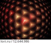 Купить «Абстрактный фрактальной фон из ярких треугольников», иллюстрация № 12644986 (c) Юлия Фаранчук / Фотобанк Лори