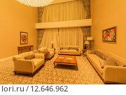 Купить «Room interior with modern furniture», фото № 12646962, снято 19 июня 2015 г. (c) Elnur / Фотобанк Лори