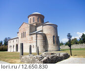 Купить «Патриарший собор в Пицунде», фото № 12650830, снято 7 августа 2015 г. (c) Алексей Ларионов / Фотобанк Лори