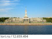 Северный речной вокзал. Москва (2015 год). Стоковое фото, фотограф Александр Овчинников / Фотобанк Лори