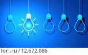 Купить «Light bulb», иллюстрация № 12672086 (c) Sergey Nivens / Фотобанк Лори