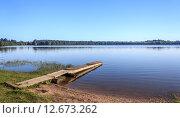 Купить «Озеро Клещино (п.Еремково, Удомельский р-н, Тверская область)», фото № 12673262, снято 20 августа 2015 г. (c) Любовь Назарова / Фотобанк Лори