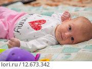 Купить «Гормональная сыпь у новорожденного», фото № 12673342, снято 14 января 2015 г. (c) Анастасия Улитко / Фотобанк Лори