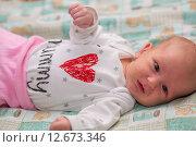 Купить «Гормональная сыпь у новорожденного», фото № 12673346, снято 14 января 2015 г. (c) Анастасия Улитко / Фотобанк Лори