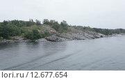Купить «Остров на реке», видеоролик № 12677654, снято 15 сентября 2014 г. (c) Потийко Сергей / Фотобанк Лори