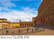 Купить «Италия. Флоренция. Палаццо Питти.», фото № 12678370, снято 16 августа 2015 г. (c) Кирпинев Валерий / Фотобанк Лори