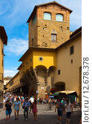 Купить «Италия. Флоренция.», фото № 12678378, снято 16 августа 2015 г. (c) Кирпинев Валерий / Фотобанк Лори