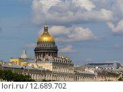 Исаакиевский собор, Санкт-Петербург. Стоковое фото, фотограф Сергей Погодин / Фотобанк Лори