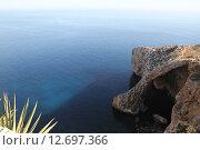 Голубой Грот, Мальта. Стоковое фото, фотограф Алексей Сагин / Фотобанк Лори