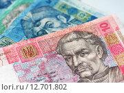 Купить «Украинские деньги», фото № 12701802, снято 17 сентября 2015 г. (c) Момотюк Сергей / Фотобанк Лори