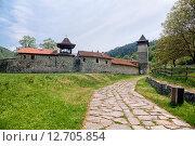 Монастырь Студеница, Сербия (2013 год). Стоковое фото, фотограф Надежда Болотина / Фотобанк Лори
