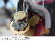 Замки бракосочетаний. Стоковое фото, фотограф Оксана Гапонова / Фотобанк Лори