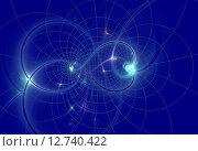 Карта Вселенной. Стоковая иллюстрация, иллюстратор Наталья Данченко / Фотобанк Лори