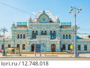 Купить «Рижский вокзал. Москва», эксклюзивное фото № 12748018, снято 8 августа 2015 г. (c) Владимир Князев / Фотобанк Лори