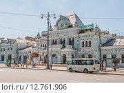 Купить «Рижский вокзал. Москва», эксклюзивное фото № 12761906, снято 8 августа 2015 г. (c) Владимир Князев / Фотобанк Лори