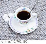 Купить «Coffee in the Cup», фото № 12762190, снято 16 сентября 2015 г. (c) Алёшина Оксана / Фотобанк Лори