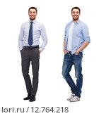 Купить «same man in different style clothes», фото № 12764218, снято 15 марта 2014 г. (c) Syda Productions / Фотобанк Лори