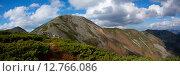 Вершина горы Облачная. Высота 1854 м. Стоковое фото, фотограф Сергеев Игорь / Фотобанк Лори