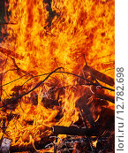 Большой пожар. Стоковое фото, фотограф Дарья Андрианова / Фотобанк Лори