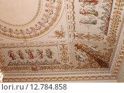 Купить «Фрагмент потолка в Юсуповском дворце. Санкт-Петербург», фото № 12784858, снято 23 июня 2012 г. (c) Владимир Тучин / Фотобанк Лори
