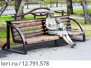 """Купить «Город Кемерово. Скульптурная композиция, посвященная семейным ценностям, """"Драгоценные бабушки""""», фото № 12791578, снято 17 мая 2010 г. (c) Зобков Георгий / Фотобанк Лори"""
