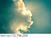 Купить «Sky hiding the sun», фото № 12796254, снято 22 мая 2019 г. (c) PantherMedia / Фотобанк Лори