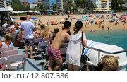 Испания, Коста Брава, путешествия на корабле по побережью. Редакционное видео, видеограф Валерий Назаров / Фотобанк Лори