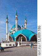 Купить «Мечеть Кул Шариф в Казанском Кремле», фото № 12809186, снято 26 сентября 2015 г. (c) Victoria Demidova / Фотобанк Лори