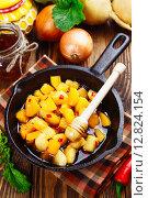 Купить «Жареная репа с медом», фото № 12824154, снято 7 октября 2015 г. (c) Надежда Мишкова / Фотобанк Лори