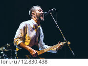 Купить «Группа Сплин. Концерт», фото № 12830438, снято 16 декабря 2014 г. (c) Иван Маркуль / Фотобанк Лори