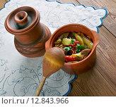 Turkish dish of lamb. Стоковое фото, фотограф Александр Fanfo / Фотобанк Лори