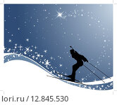 Купить «biathlon athlete», иллюстрация № 12845530 (c) PantherMedia / Фотобанк Лори